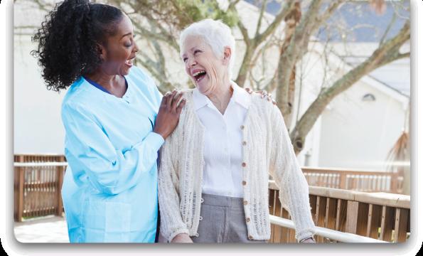 female-caregiver-and-elder-woman