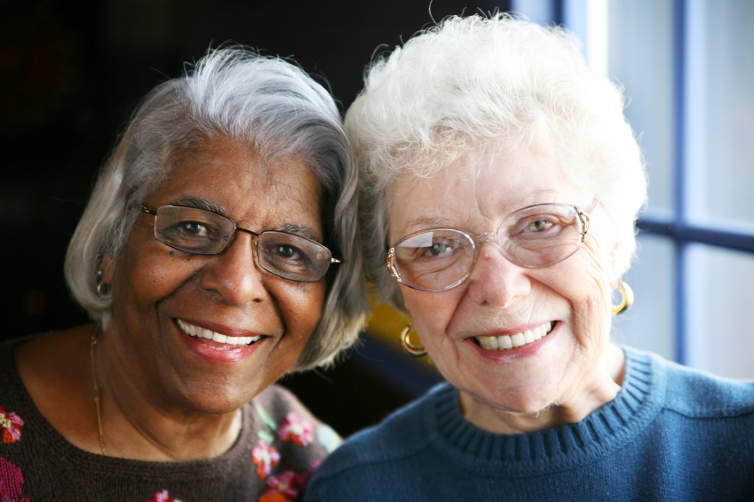 Two elderly ladies