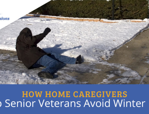 How Home Caregivers Help Senior Veterans Avoid Winter Falls