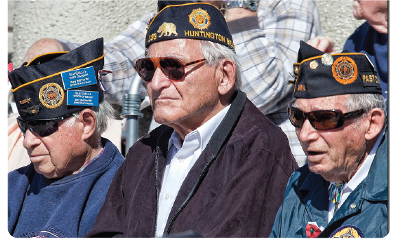 US military veterans